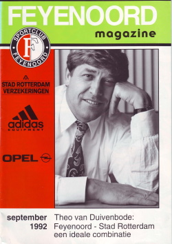 Feyenoord Magazine September 1992
