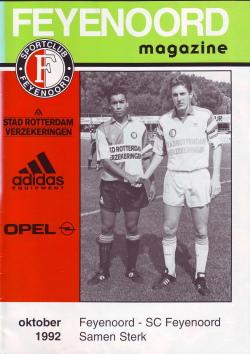 Feyenoord Magazine Oktober 1992