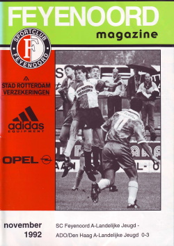 Feyenoord Magazine November 1992