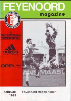 Feyenoord Magazine Februari 1993