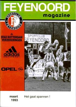 Feyenoord Magazine Maart 1993