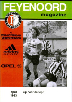 Feyenoord Magazine April 1993