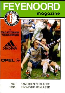 Feyenoord Magazine Mei 1993