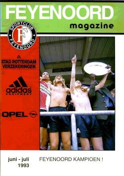 Feyenoord Magazine Juni Juli 1993