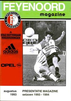 Feyenoord Magazine Augustus 1993