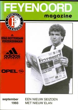 Feyenoord Magazine September 1993