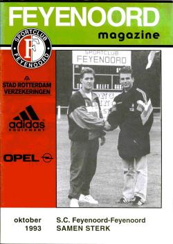 Feyenoord Magazine Oktober 1993