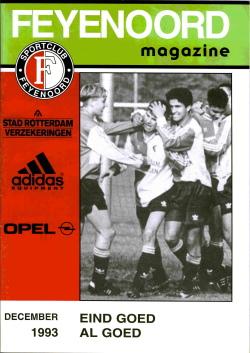 Feyenoord Magazine December 1993
