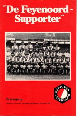 De Feyenoord Supporter November 1980