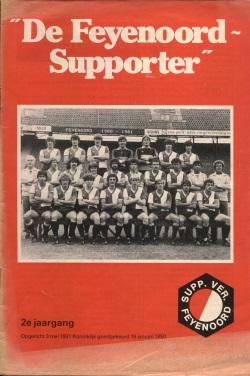 De Feyenoord Supporter December 1980