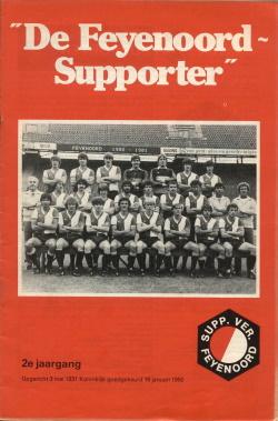 De Feyenoord Supporter Maart 1981