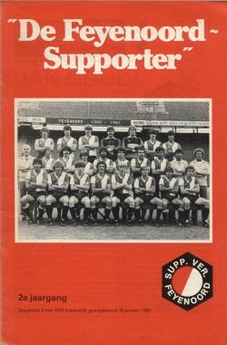 De Feyenoord Supporter Mei 1981