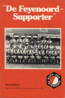 De Feyenoord Supporter Juni 1981