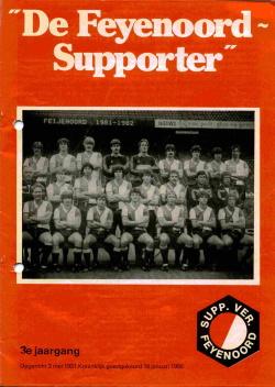 De Feyenoord Supporter Augustus 1981