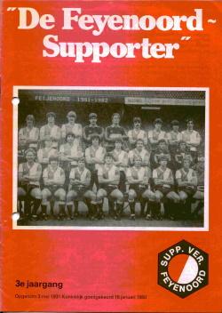 De Feyenoord Supporter Oktober 1981