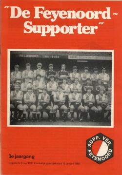 De Feyenoord Supporter November 1981