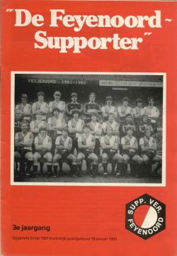 De Feyenoord Supporter December 1981