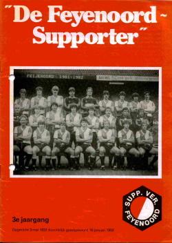 De Feyenoord Supporter Mei 1982
