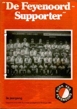 De Feyenoord Supporter Juni 1982