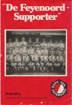 De Feyenoord Supporter Juli 1982