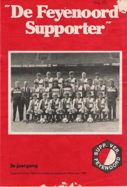 De Feyenoord Supporter Augustus 1982