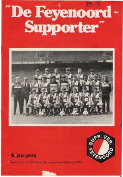 De Feyenoord Supporter Mei 1983