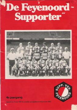 De Feyenoord Supporter Augustus 1983