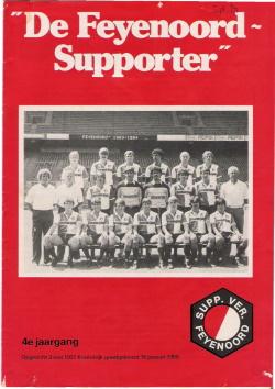 De Feyenoord Supporter September 1983