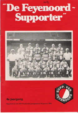 De Feyenoord Supporter November 1983