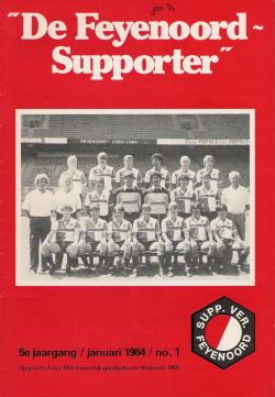 De Feyenoord Supporter Januari 1984