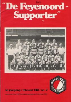 De Feyenoord Supporter Februari 1984