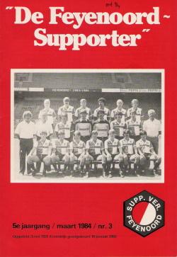 De Feyenoord Supporter Maart 1984