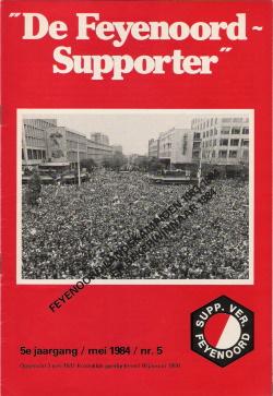 De Feyenoord Supporter Mei 1984
