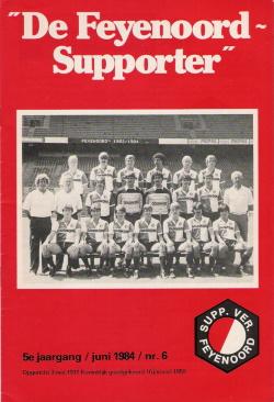 De Feyenoord Supporter Juni 1984