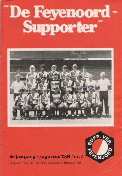 De Feyenoord Supporter Augustus 1984
