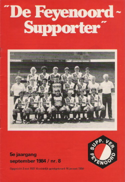 De Feyenoord Supporter September 1984