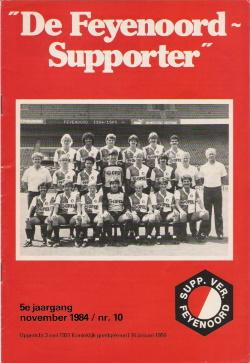 De Feyenoord Supporter November 1984