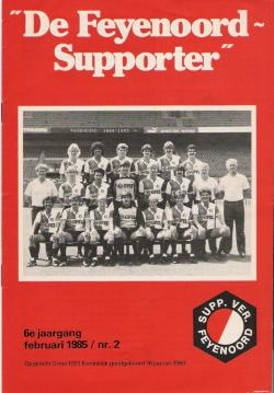 De Feyenoord Supporter Februari 1985