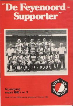 De Feyenoord Supporter Maart 1985