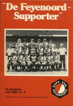 De Feyenoord Supporter Mei 1985