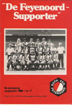 De Feyenoord Supporter Augustus 1985