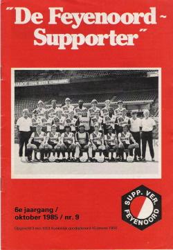 De Feyenoord Supporter Oktober 1985