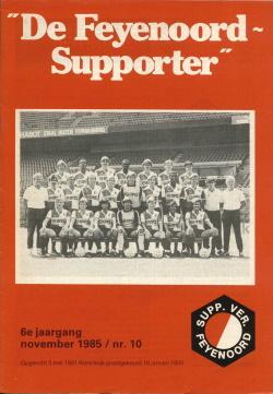 De Feyenoord Supporter November 1985