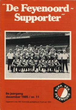 De Feyenoord Supporter December 1985