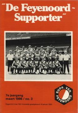 De Feyenoord Supporter Maart 1986