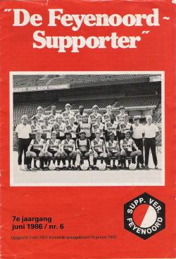 De Feyenoord Supporter Juni 1986