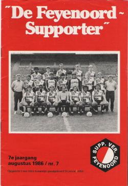 De Feyenoord Supporter Augustus 1986