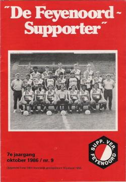 De Feyenoord Supporter Oktober 1986