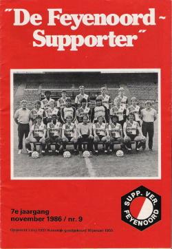 De Feyenoord Supporter November 1986