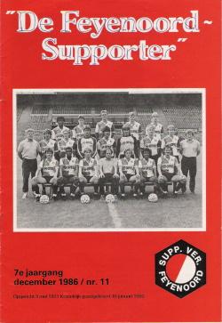 De Feyenoord Supporter December 1986